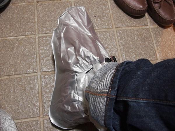 ダイソー,靴カバー