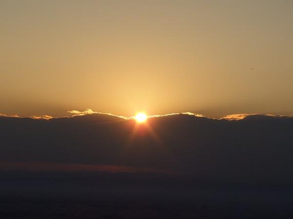 元旦登山と餅と初日の出5