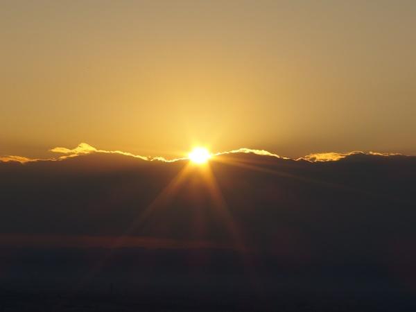 元旦登山と餅と初日の出4