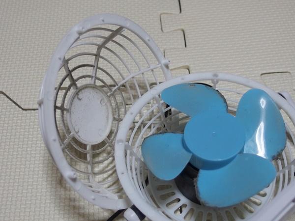 ダイソー扇風機3