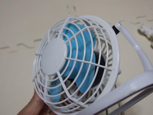 ダイソー扇風機4