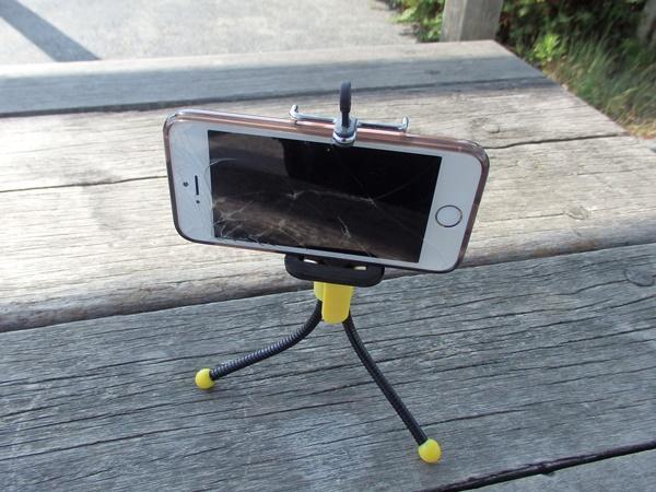 スマートフォン 三脚3