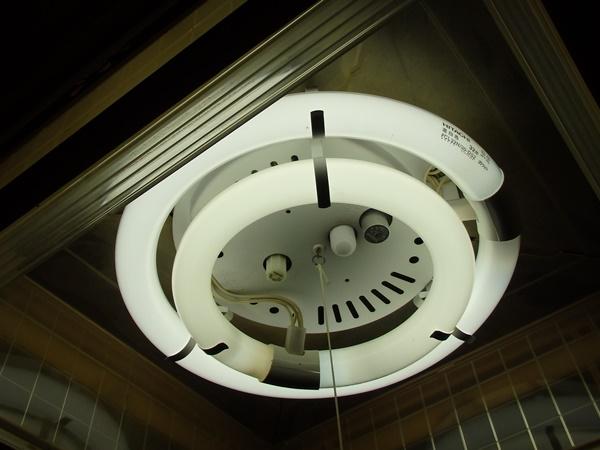 ダイソーの蛍光ランプ2