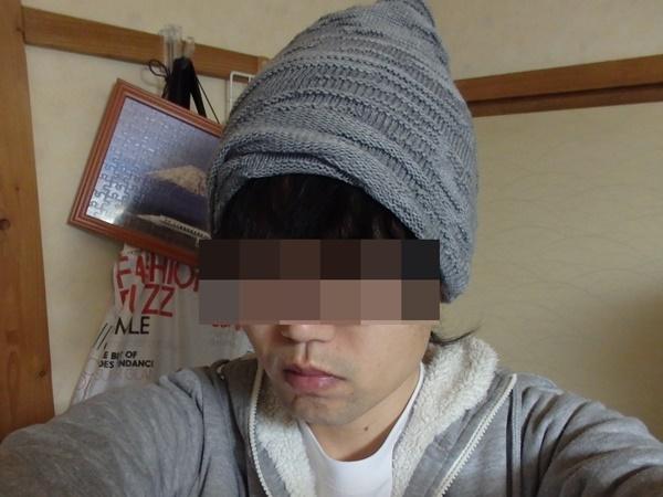 ダイソーのニット帽6