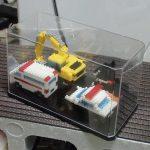 ホビーアイテム保管のためのコレクションボックス2種