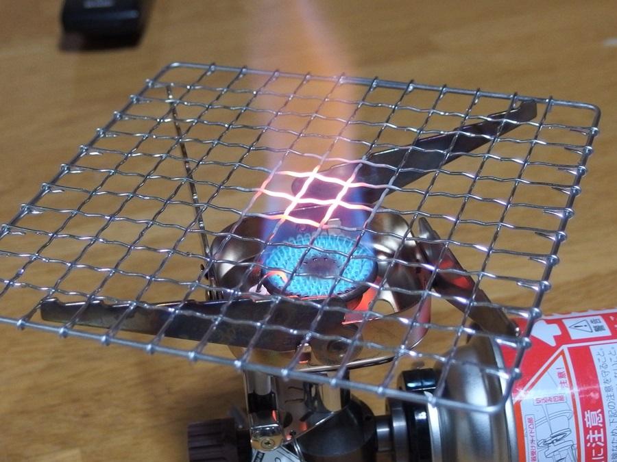 ジュニアカセットバーナー 焼き網4