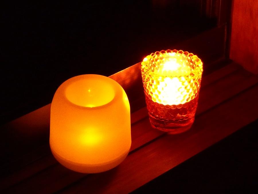 LED不思議なキャンドル ダイソー