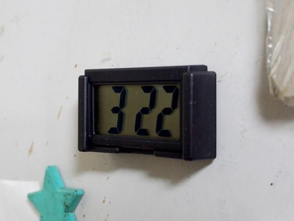 セリアのデジタル時計6