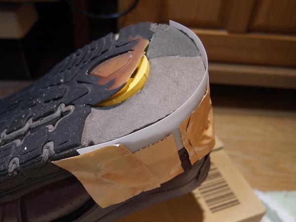 靴底補修2