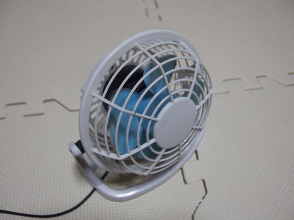 ダイソー扇風機2