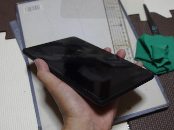 光沢フリーカット液晶保護フィルム1