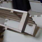 すのこと木片で収納ラックを作ってみた(ブルーレイプレーヤー編)