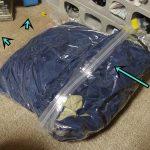掃除機を使わない衣類圧縮袋に寝袋を入れてみた