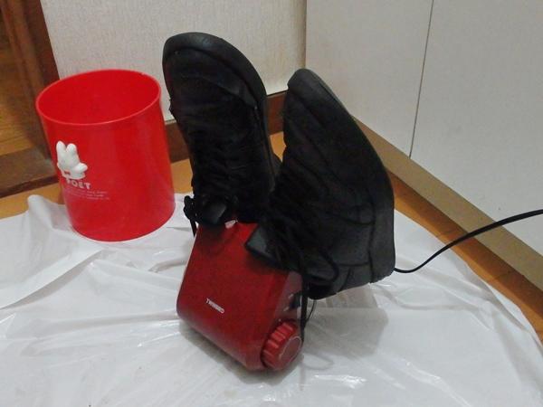 ツインバードの靴乾燥機5