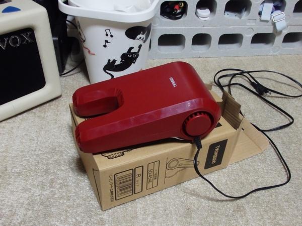 ツインバードの靴乾燥機1