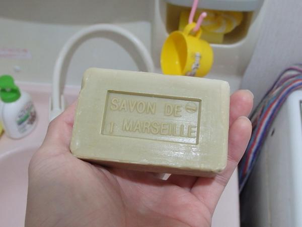 ダイソーのマルセイユ石鹸オリーブ1
